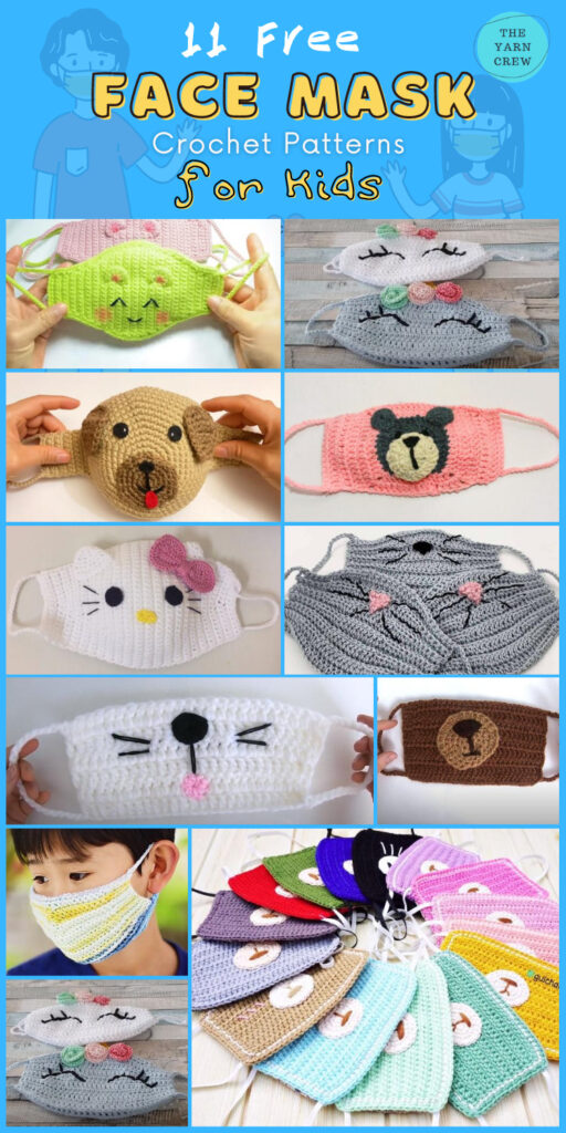 11 Free Face Mask Crochet Patterns For Kids (2)