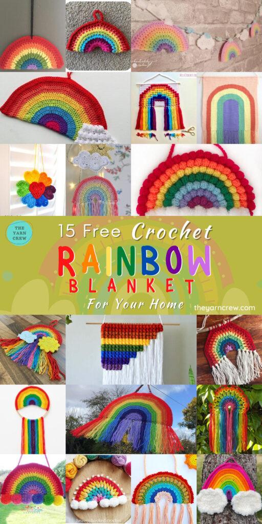 15 Free Rainbow Wall Hangings - PIN 2