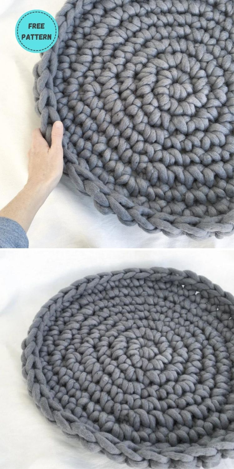 19 Free Crochet Cat Bed Patterns You Can Easily Make PIN POSTER 7