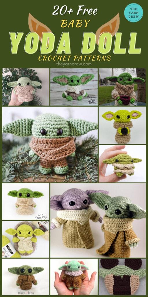 20+ Free Baby Yoda Doll Crochet Patterns (5)