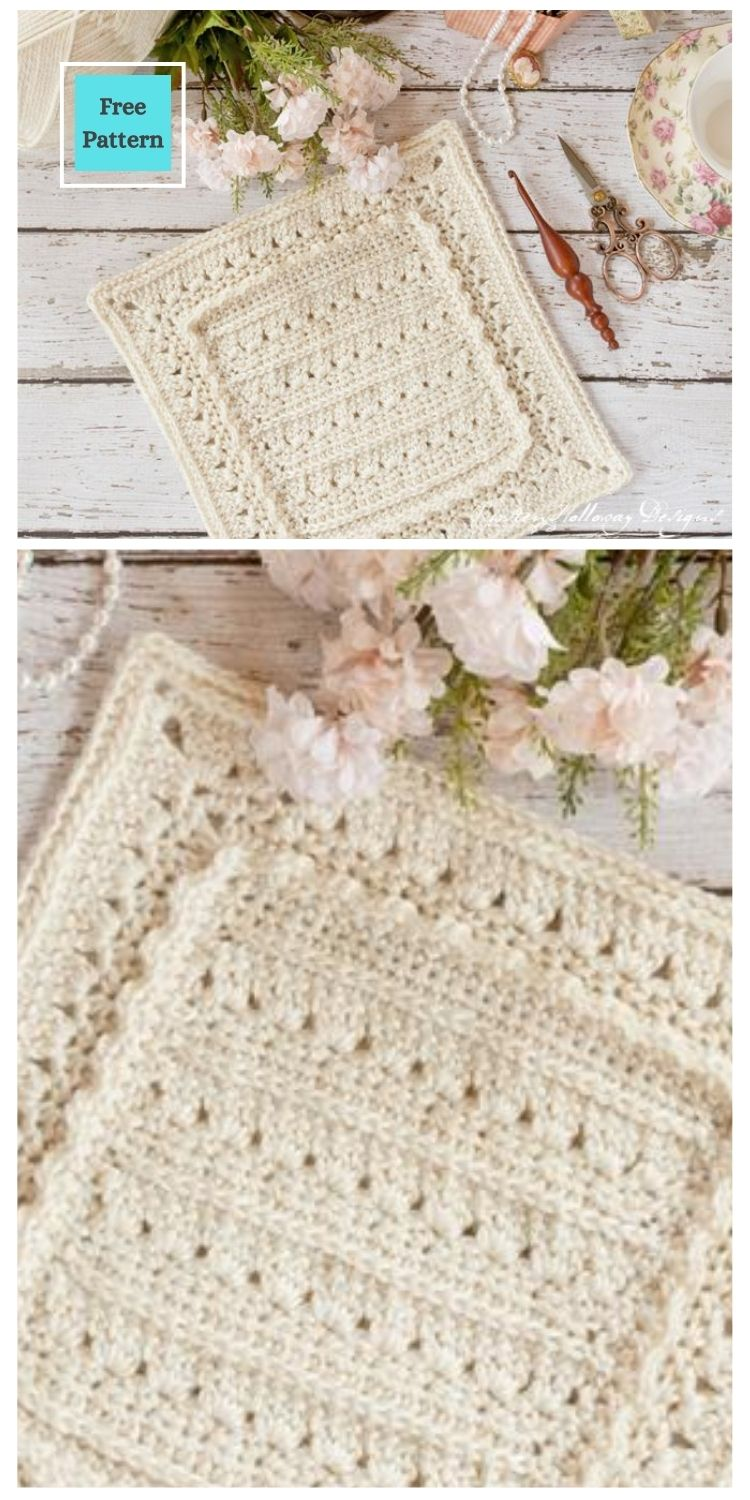 21 Beautiful & Simple Granny Square Patterns PIN POSTER 6