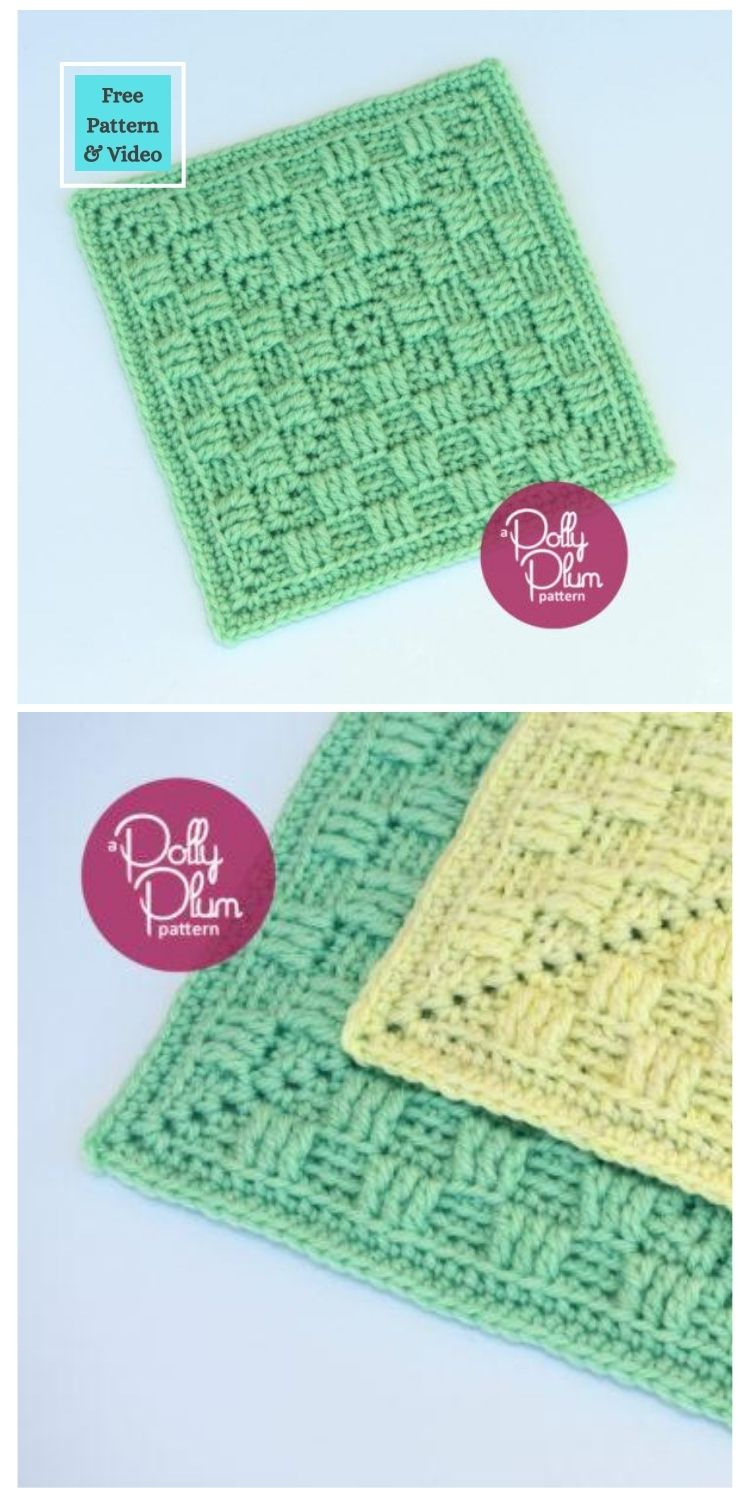 21 Beautiful & Simple Granny Square Patterns PIN POSTER 9