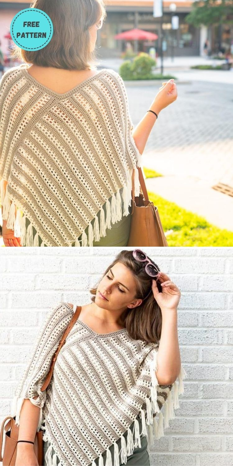 22 Free Crochet Cover Up Patterns For Summer PIN POSTER 14