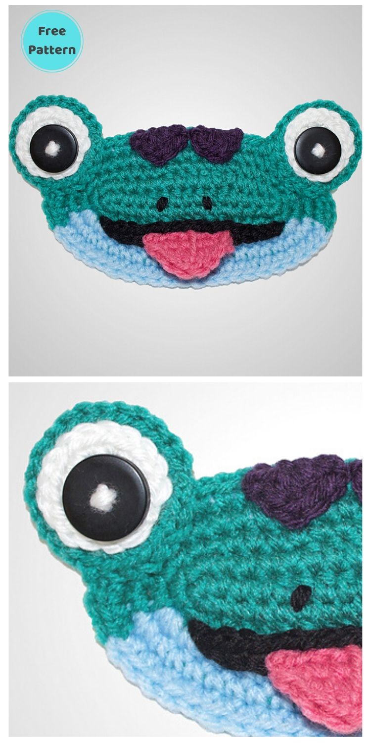 25 Free Ear Saver Crochet Patterns For Face Masks PIN POSTER 24