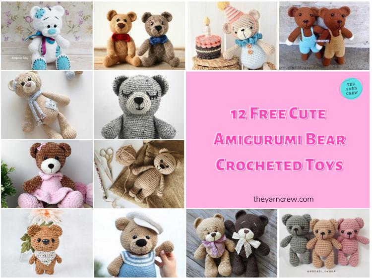 12-Free-Cute-Amigurumi-Bear-Crocheted-Toys