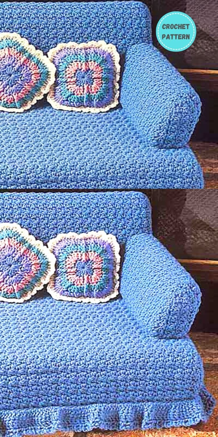 5 Crochet Cat Couch Patterns For Your Furry Friend PIN POSTER 4