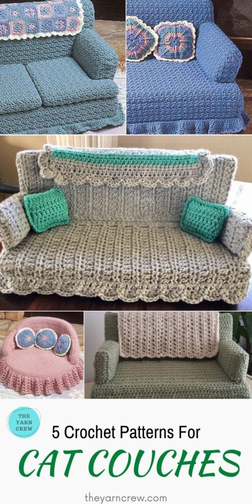 _5 Adorable Cat Couch Patterns For Your Furry Friend - PIN2