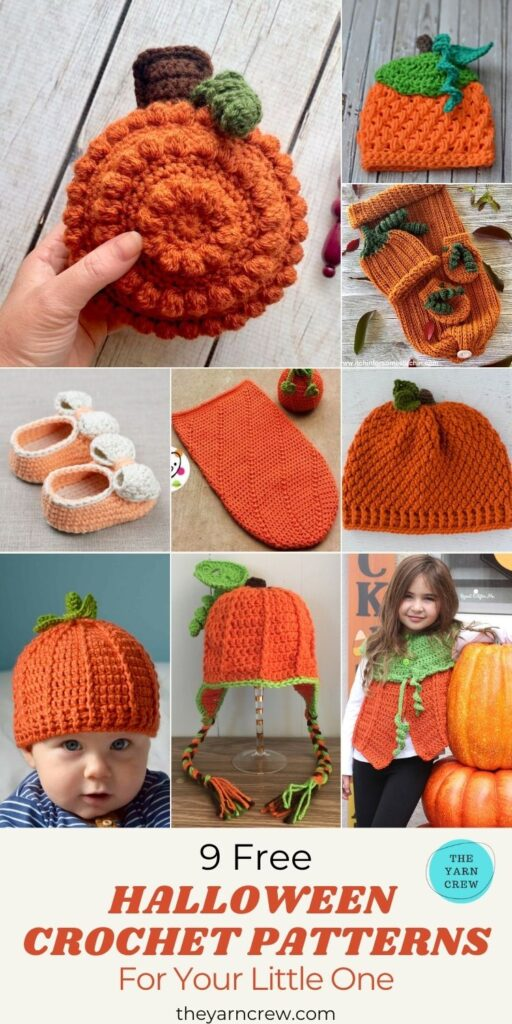 9 Free Crochet Pumpkin Patterns For Your Little One - PIN1