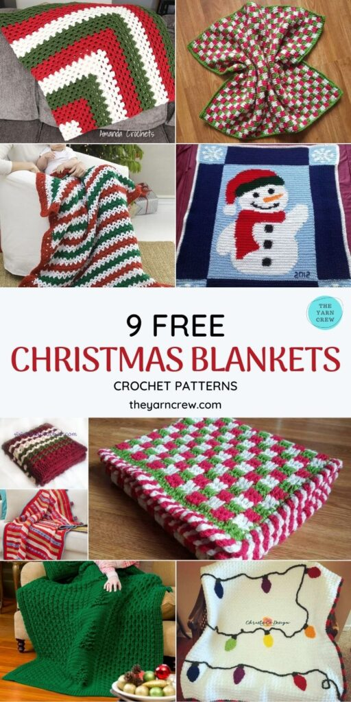 _9 Free Cozy Christmas Blankets & Afghans-PIN1