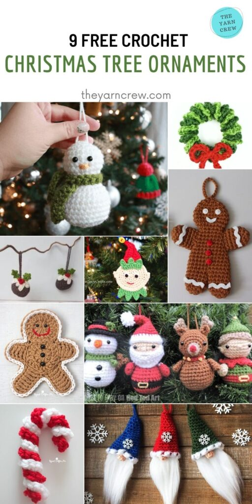 9 Free Cute Traditional Christmas Decorations Tree Ornaments - PINTEREST1