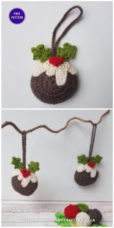 Christmas Pudding Tree Decoration - 9 Free Traditional Christmas Decorations Tree Ornaments PIN