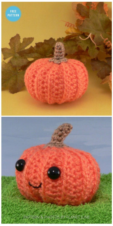 Easy Crochet Pumpkin Pattern - 18 Free Farmhouse Crochet Pumpkin Patterns