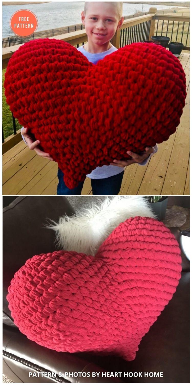 Amigurumi Love Heart Crochet Pattern - 10 Free Amigurumi Hearts Crochet Patterns
