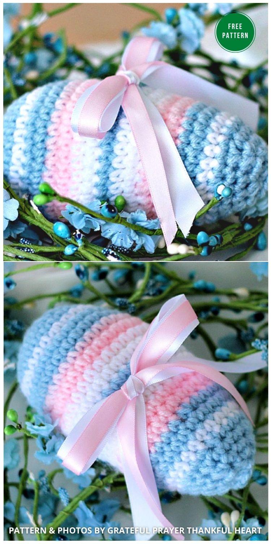 Crochet Easter Egg - 12 Free Easter Egg Crochet Patterns