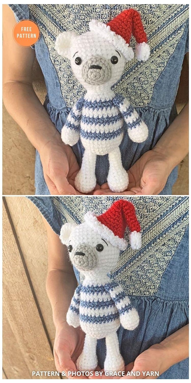 Free Crochet Polar Bear Pattern - 11 Free Polar Bear Amigurumi Toy Patterns