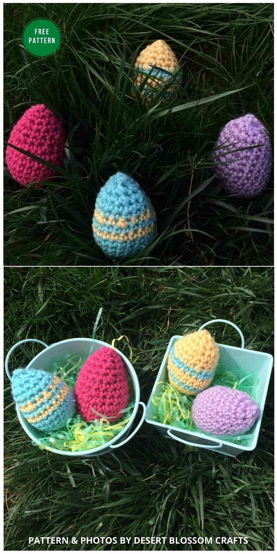 How To Make The Best Easter Egg - 12 Free Easter Egg Crochet Patterns