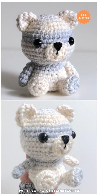 Peyton The Polar Bear - 11 Free Polar Bear Amigurumi Toy Patterns
