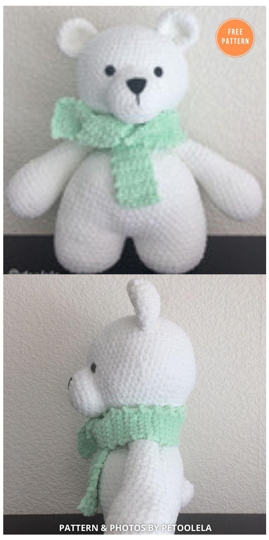 Polar Bear - 11 Free Polar Bear Amigurumi Toy Patterns (1)