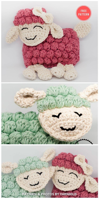 Crochet ragdoll pattern - 13 Free Easter Spring Lamb Crochet Patterns