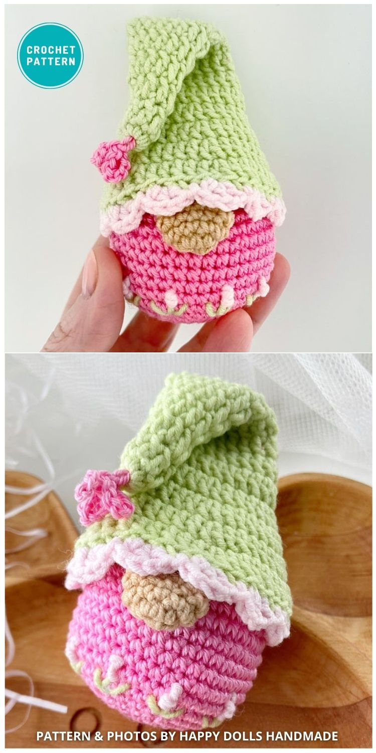 Easter Gnome Pattern - 8 Gorgeous Spring Easter Gnomes Crochet Patterns