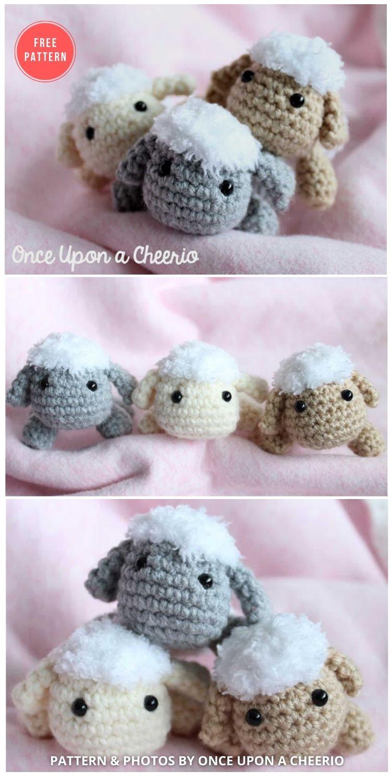 Rosemary The Lamb Crochet Pattern - 13 Free Easter Spring Lamb Crochet Patterns