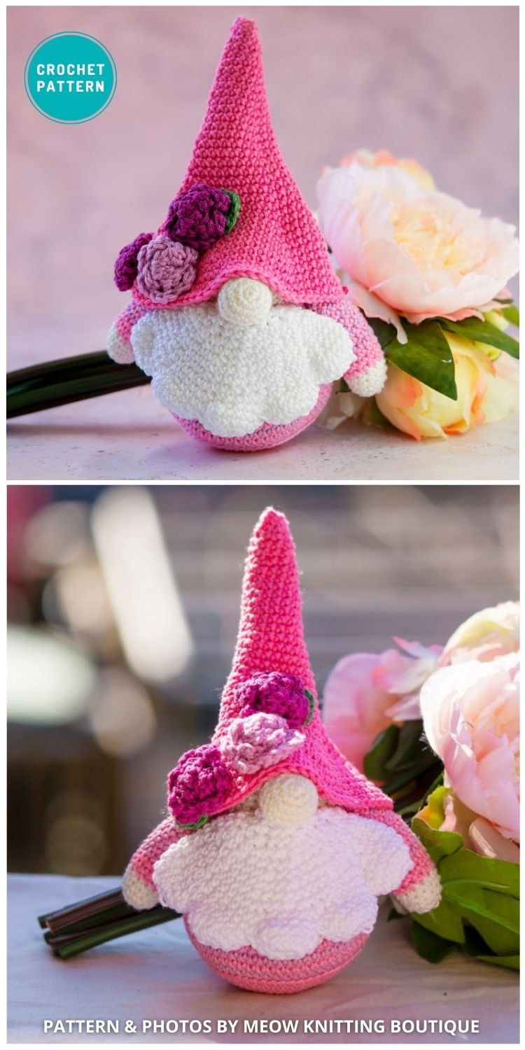 Spring Gnome - Easter Gnome - 8 Gorgeous Spring Easter Gnomes Crochet Patterns