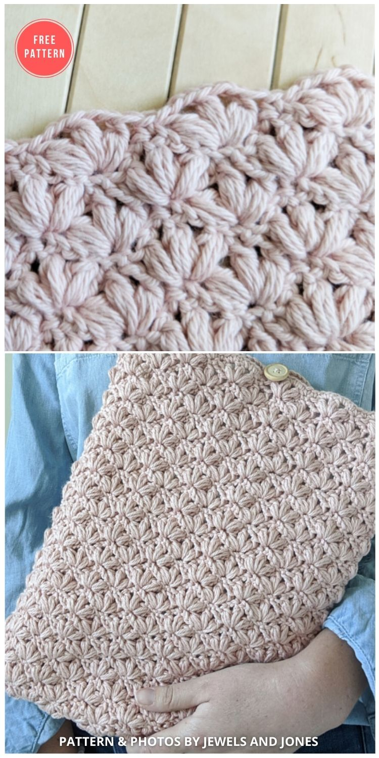 The Lotus Stitch - 12 Beautiful Crochet Flower Stitches For Blankets