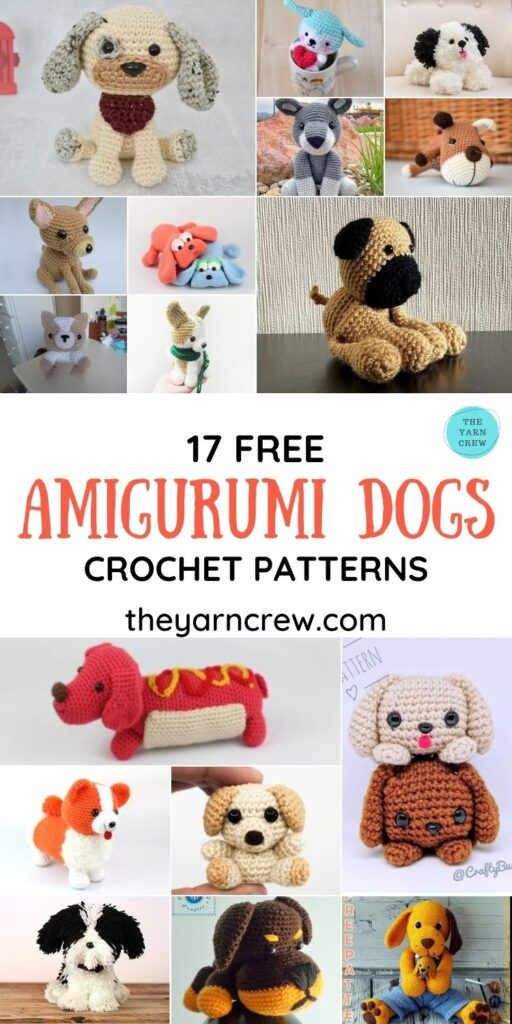 17 Free Amigurumi Dog Crochet Patterns - PINTEREST 1