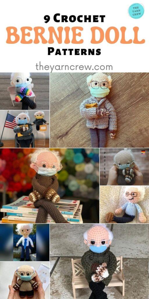 9 Crochet Bernie Doll Patterns - PIN2