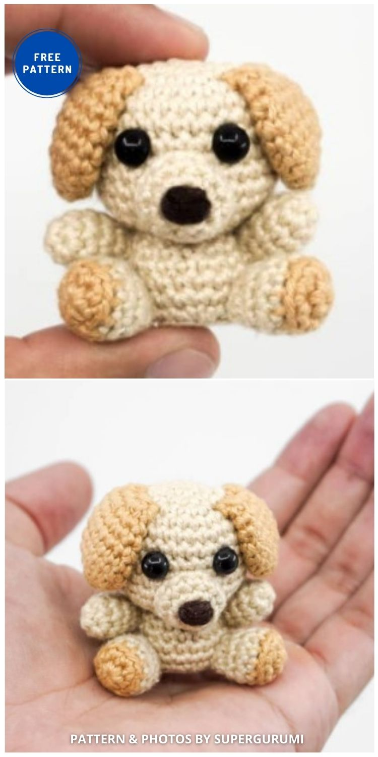 Amigurumi Dog - 17 Free Amigurumi Dog Crochet Patterns