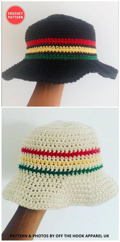 _Babylon Bucket Hat - 15 Easy Crochet Bucket Hat Patterns For Summer