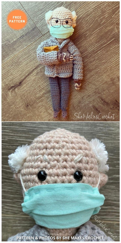 Bernie Sanders - 9 Bernie Sanders Crochet Doll Patterns