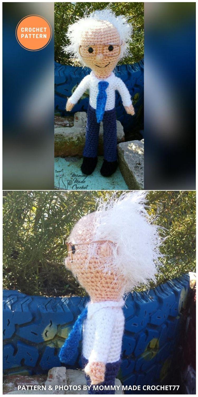 Bernie Sanders Doll - 9 Bernie Sanders Crochet Doll Patterns