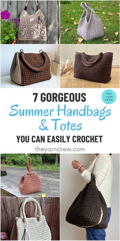 7 Gorgeous Summer Handbags & Totes You Can Easily Make PIN 1