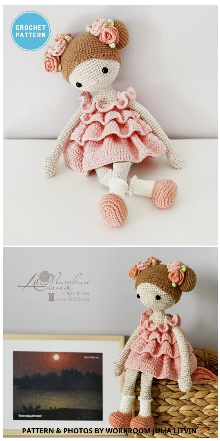 Amigurumi Doll - 14 Best Amigurumi Dragon Crochet Patterns To Make For Your Little One PIN