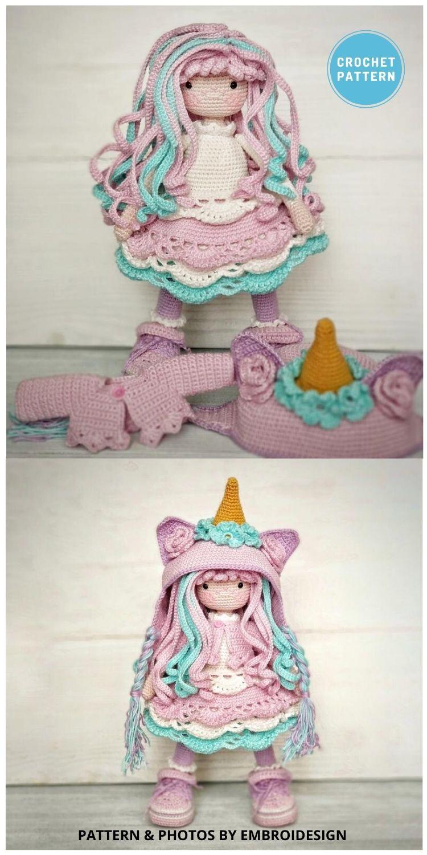 Crochet Doll Pattern Amigurumi Mia - 14 Best Amigurumi Dragon Crochet Patterns To Make For Your Little One PIN