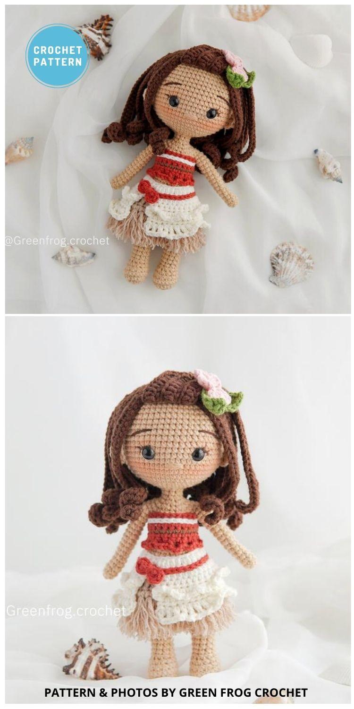 Ocean princess Amigurumi - 14 Best Amigurumi Dragon Crochet Patterns To Make For Your Little One PIN