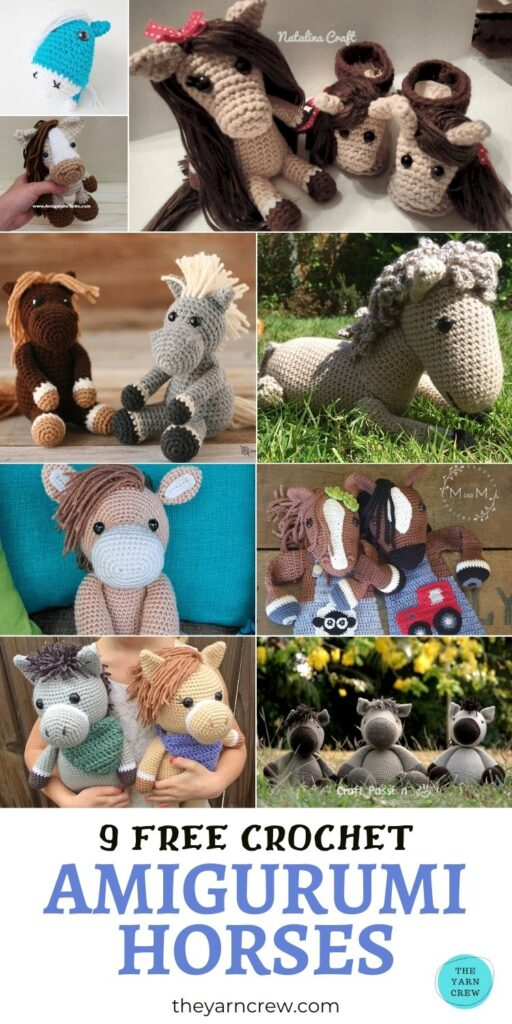 9 Free Crochet Amigurumi Horse PIN 3