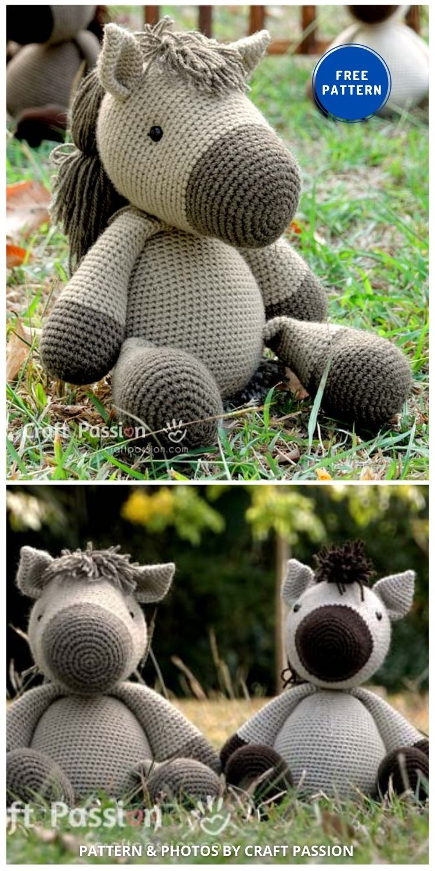Amigurumi Horse - 9 Free Amigurumi Horses Crochet Toy Patterns