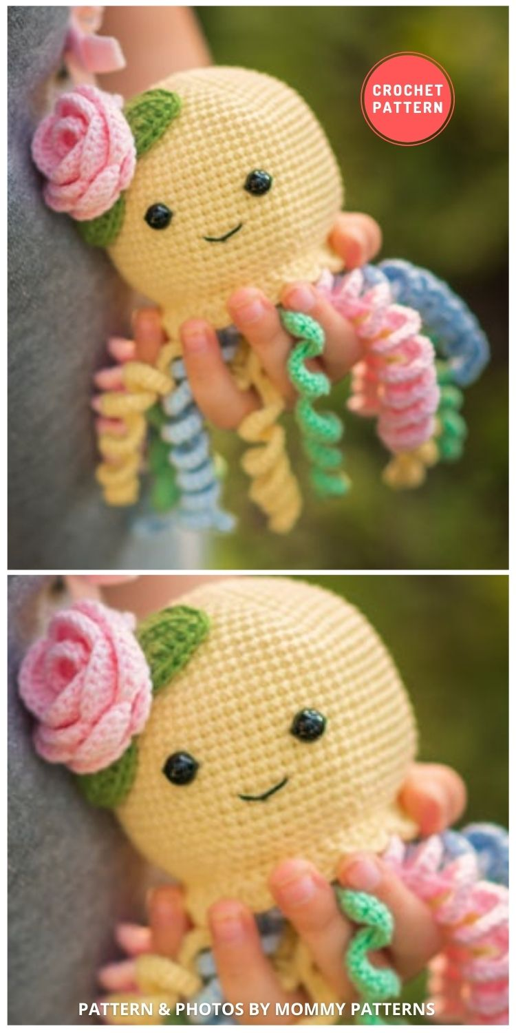 Baby Octopus Amigurumi - 11 Amigurumi Octopus Toys Crochet Patterns For Babies PIN