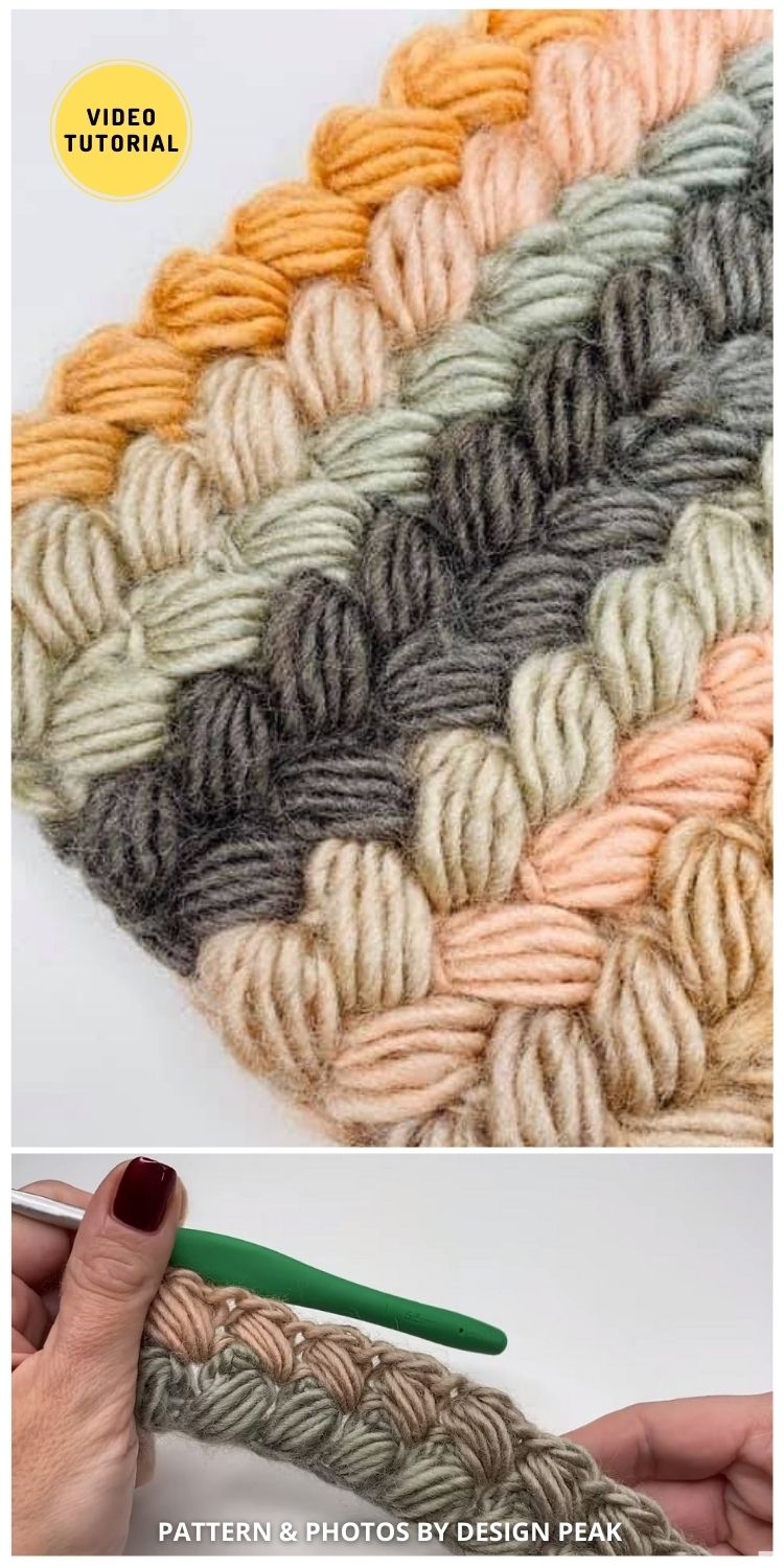Crochet Braided Stitch - 12 Easy Crochet Stitches Without Holes