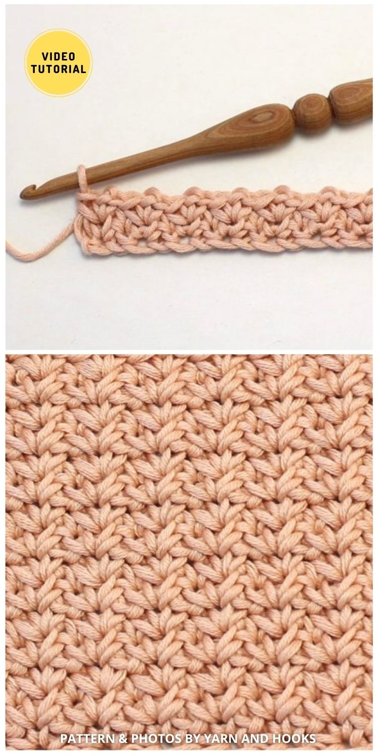 The Spider Stitch - 12 Easy Crochet Stitches Without Holes