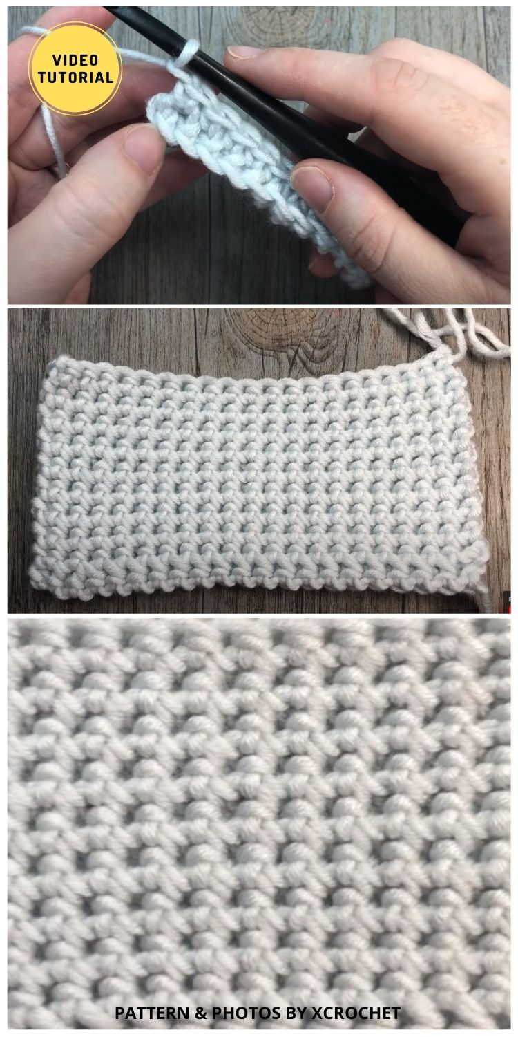 Thermal Stitch - 12 Easy Crochet Stitches Without Holes