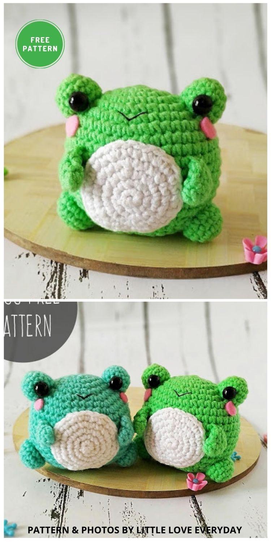 Amigurumi Frog - 11 Free Crochet Amigurumi Frog Patterns (1)