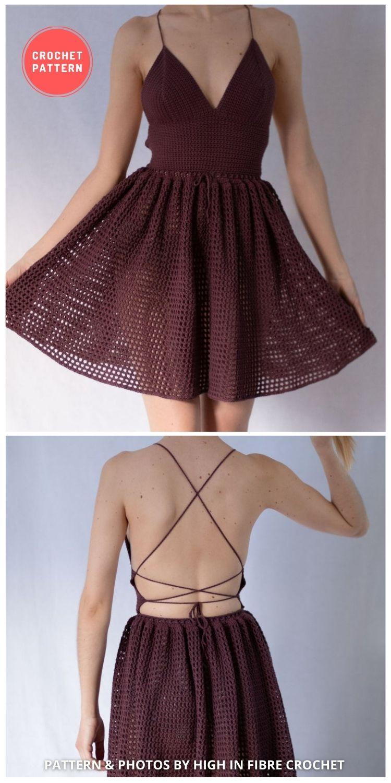 Crochet Dress With Full Skirt - 5 Modern Crochet Summer Dresses To Wear This Summer