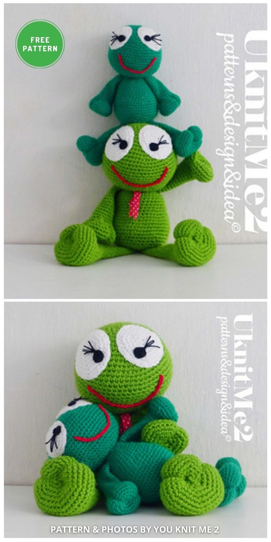 Frog Amigurumi - 11 Free Crochet Amigurumi Frog Patterns