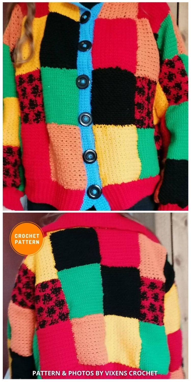 Harry Styles Crochet Cardigan - 3 Best Crochet Harry Styles Cardigan Sweater Patterns