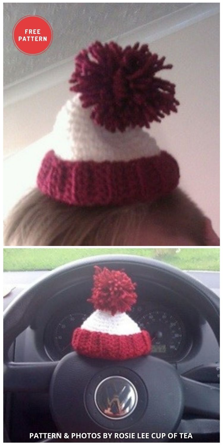 Where's Wally Mini Hat - 6 Free & Quick Crochet Where's Wally Hat Patterns