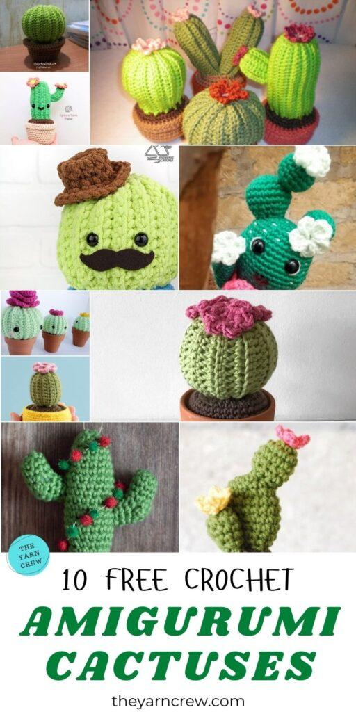 10 Free Crochet Amigurumi Cactuses PIN 3
