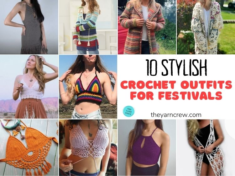 10 Stylish Crochet Outfits For Festivals FB POSTER